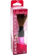 Vibrating Make Up Brush Mini Massager 4 Inch Pink